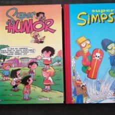 Libros: DOS VOLÚMENES, SÚPER HUMOR N 1 Y SÚPER SIMPSON N 5.. NUEVOS. Lote 201530331