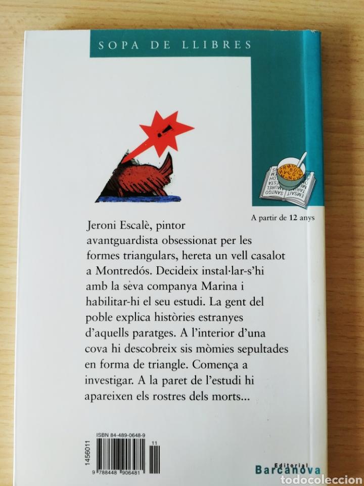 Libros: Triangles mortals o la sala dels difunts. Olga Xirinacs. Catalán - Foto 2 - 203412973