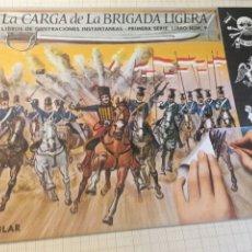 Libros: LIBRO ILUSTRACIONES INSTANTÁNEAS LA CARGA DE LA BRIGADA LIGERA - AGUILAR N. 9. Lote 204517567