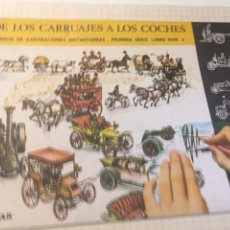 Libros: LIBRO DE ILUSTRACIONES INSTANTÁNEAS DE LOS CARRUAJES A LOS COCHES. EDICIÓN AGUILAR N. 2. Lote 204519683