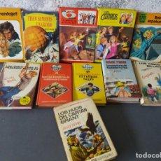 Libros: LOTE DE LIBROS LITERATURA CLÁSICA JUVENIL. Lote 204970626