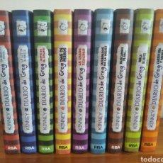 Libros: DIARIO DE GREG 1-9. Lote 205796302