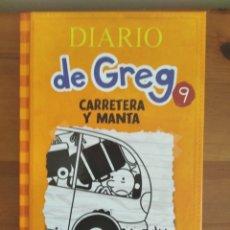 Libros: DIARIO DE GREG 9 CARRETERA Y MANTA. Lote 205800332