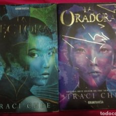 """Libros: """"LA LECTORA"""" Y """"LA ORADORA"""", DE TRACI CHEE. Lote 206833270"""