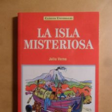 Libros: LA ISLA MISTERIOSA - JULIO VERNE - CLASICOS UNIVERSALES - SERVILIBRO - 1999. Lote 207069317