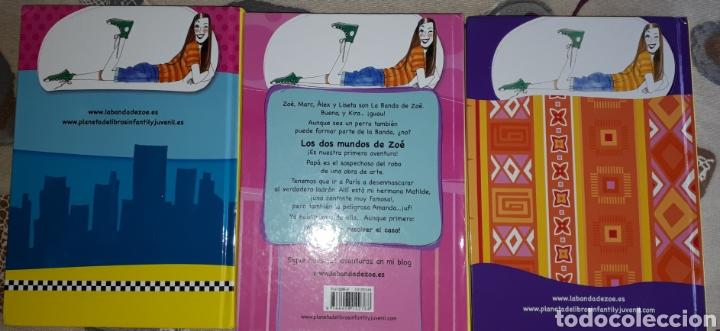 Libros: Lote.3 libros LOS MUNDOS DE ZOE. COMO NUEVOS. - Foto 2 - 207465878