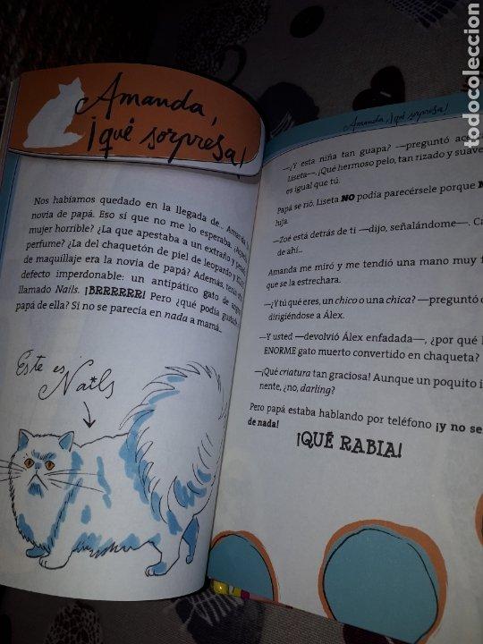 Libros: Lote.3 libros LOS MUNDOS DE ZOE. COMO NUEVOS. - Foto 5 - 207465878