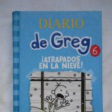 Libros: DIARIO DE GREG 6 - ATRAPADOS EN LA NIEVE - JEFF KINNEY - NUEVO. Lote 208398060