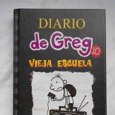 Libros: DIARIO DE GREG 10 - VIEJA ESCUELA - JEFF KINNEY - NUEVO. Lote 208398205