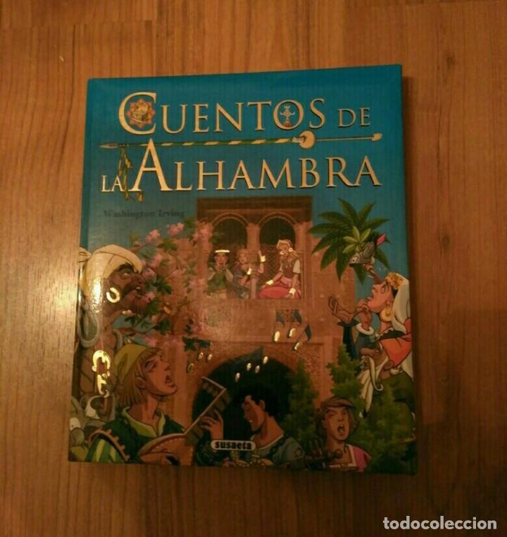 LIBRO INFANTIL JUVENIL CUENTOS DE LA ALHAMBRA, 187PG A TODO COLOR, SUSAETA (Libros Nuevos - Literatura Infantil y Juvenil - Literatura Juvenil)