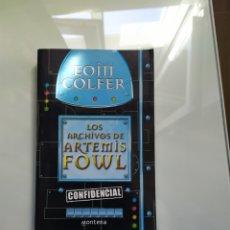 Libros: ARTEMIS FOWL PACK. Lote 210084595