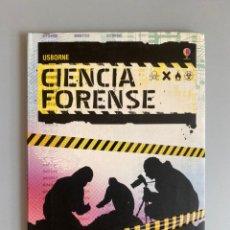 Libros: CIENCIA FORENSE - USBORNE - ALEX FRITH. Lote 210367218