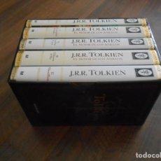 Libros: PACK 5 LIBROS EL SEÑOR DE LOS ANILLOS LIBRO MINOTAURO EDICION ESPECIAL BOOK LORD OF RINGS LOTE LIMIT. Lote 210554266