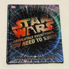 Libros: LIBRO STAR WARS ABSOLUTELY EVERYTHING YOU NEED TO KNOW.. Lote 210619107