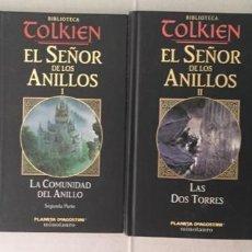 Libros: EL SEÑOR DE LOS ANILLOS. (4 VOLÚMENES). Lote 210644972