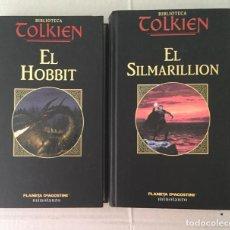 Libros: EL HOBBIT Y EL SILMARILLION. PLANETA. Lote 210645318