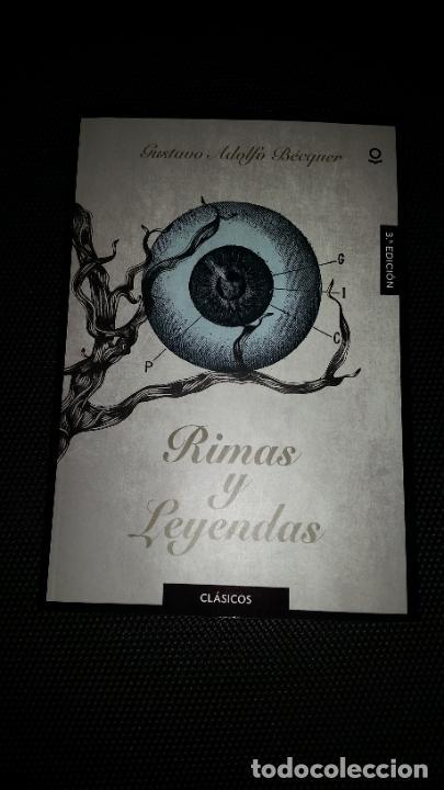 LEYENDAS Y RIMAS - GUSTAVO ADOLFO BECQUER ED SANTILLANA PARA LA ESO (Libros Nuevos - Literatura Infantil y Juvenil - Literatura Juvenil)