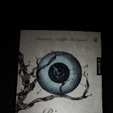 Libros: LEYENDAS Y RIMAS - GUSTAVO ADOLFO BECQUER ED SANTILLANA PARA LA ESO. Lote 210933404