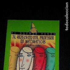 Libros: EL ASESINATO DEL PROFESOR DE MATEMÁTICAS . ED ANAYA - NUEVO SIN USO. Lote 230786595