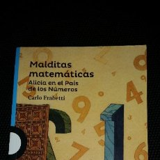 Libros: MALDITAS MATEMÁTICAS. Lote 210934071