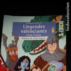 Libros: LEGENDES VALENCIANES. PARA LA ESO. Lote 210934581
