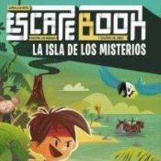 Libros: ESCAPE BOOK. LA ISLA DE LOS MISTERIOS. Lote 211778503