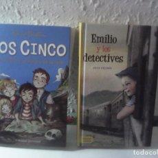Libros: LOTE 2 LIBROS JUVENILES NUEVOS SIN LEER. Lote 211999462