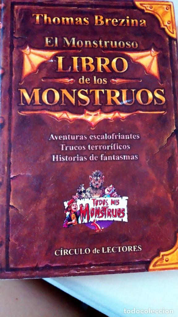 EL LIBRO DE LOS MONSTRUOS (Libros Nuevos - Literatura Infantil y Juvenil - Literatura Juvenil)