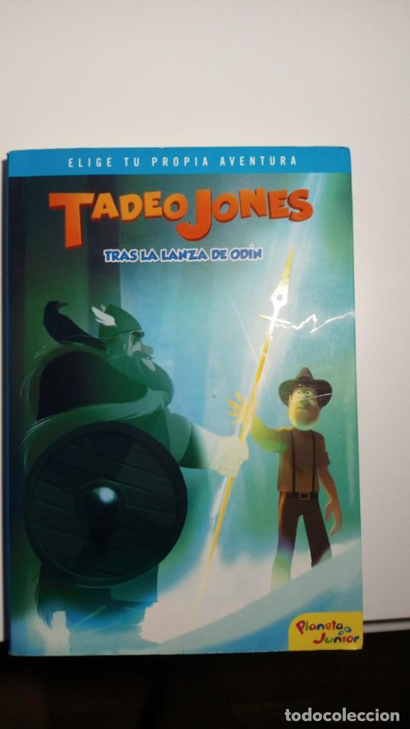 TADEO JONES TRAS LA LANZA DE ODÍN (Libros Nuevos - Literatura Infantil y Juvenil - Literatura Juvenil)