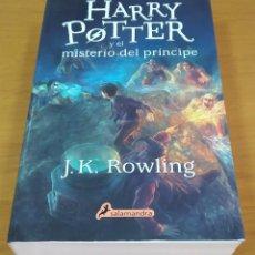 Libros: HARRY POTTER Y EL MISTERIO DEL PRÍNCIPE. PRECIOSO LIBRO PASTA BLANDA. ED. SALAMANDRA. 2018. Lote 219140203