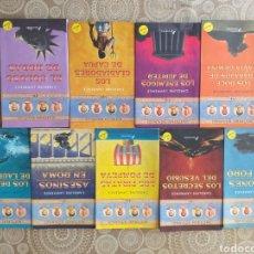 Libros: MISTERIOS ROMANOS, DE CAROLINE LAWRENCE, LIBROS DEL 1 AL 9. Lote 219260022