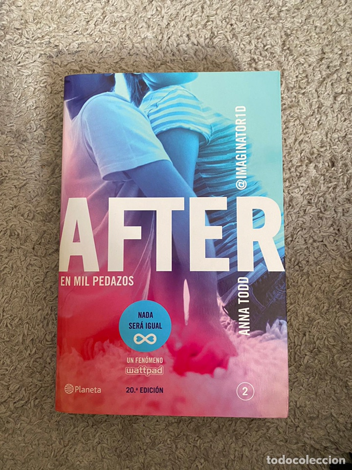 AFTER-EN MIL PEDAZOS-ANNA TODD (Libros Nuevos - Literatura Infantil y Juvenil - Literatura Juvenil)