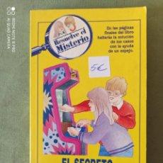 Libros: RESUELVE EL MISTERIO. Lote 220409227