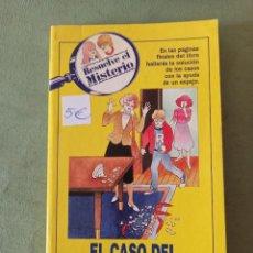 Libros: RESUELVE EL MISTERIO. Lote 220409623