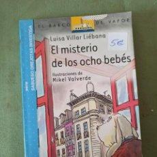 Libros: EL MISTERIO DE LOS OCHO BEBÉS. Lote 220415255