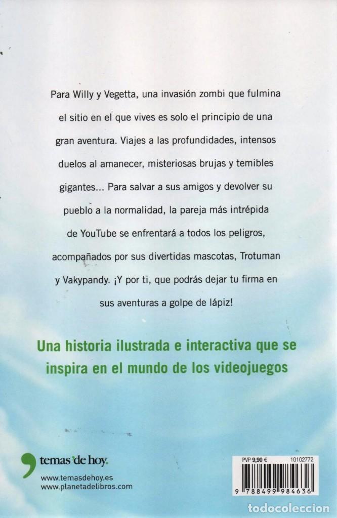 Libros: WIGETTA, UN VIAJE MAGICO de VEGETTA777 & WILLYREX - PLANETA, 2015 - Foto 2 - 221086130