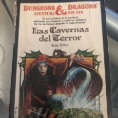 Libros: DRAGONES Y MAZMORRAS LAS CAVERNAS DEL TERROR. Lote 221833866