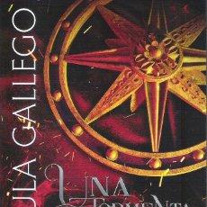 Libros: UNA TORMENTA DE FUEGO , SUSPIRO NEGRO 1 , PAULA GALLEGO. Lote 222173056