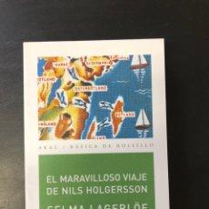 Libros: EL MARAVILLOSO MUNDO DE NILS HOLGERSSON EDITORIAL AKAL. Lote 222230492