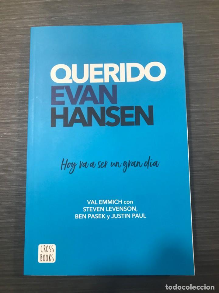 QUERIDO EVAN HANSEN. V. EMMICH/S. LEVENSON/ B.PASEK/J. PAUL. ED.CROSS BOOKS (Libros Nuevos - Literatura Infantil y Juvenil - Literatura Juvenil)
