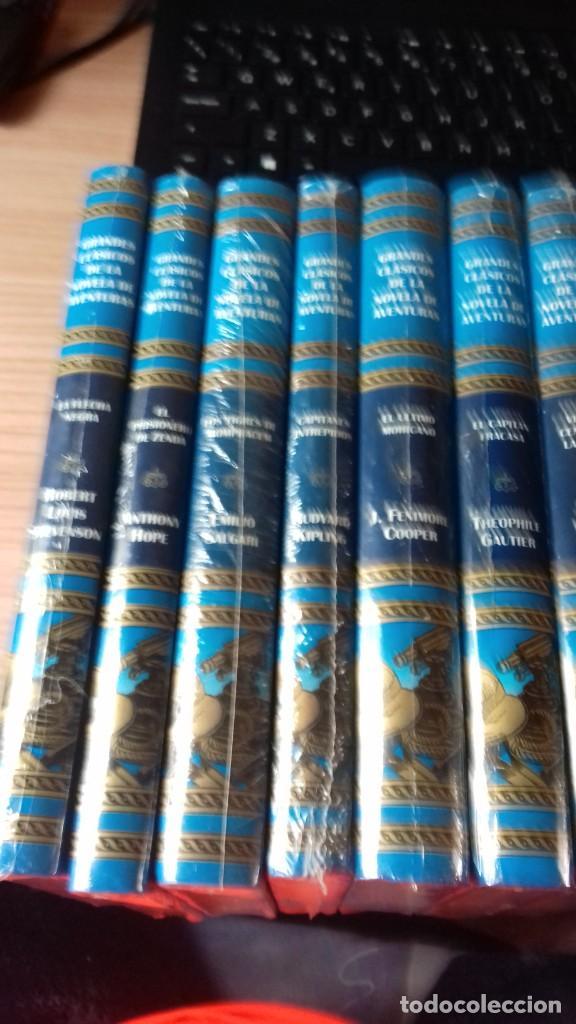 Libros: Lote de libros de aventura con su precinto original - Foto 2 - 223586670