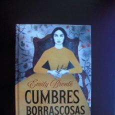 Libros: CUMBRES BORRASCOSAS (EMILY BRONTË) - (ENVÍO 4 €). Lote 225157690