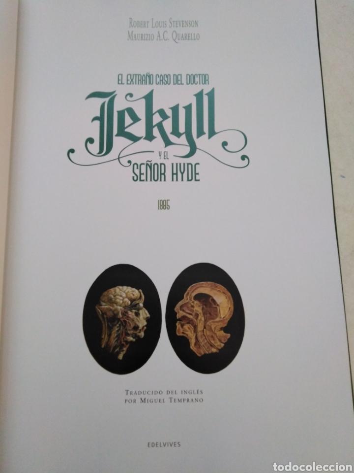 Libros: El extraño caso del doctor jekill y el señor hyde, edelvives 2018 - Foto 3 - 227607525