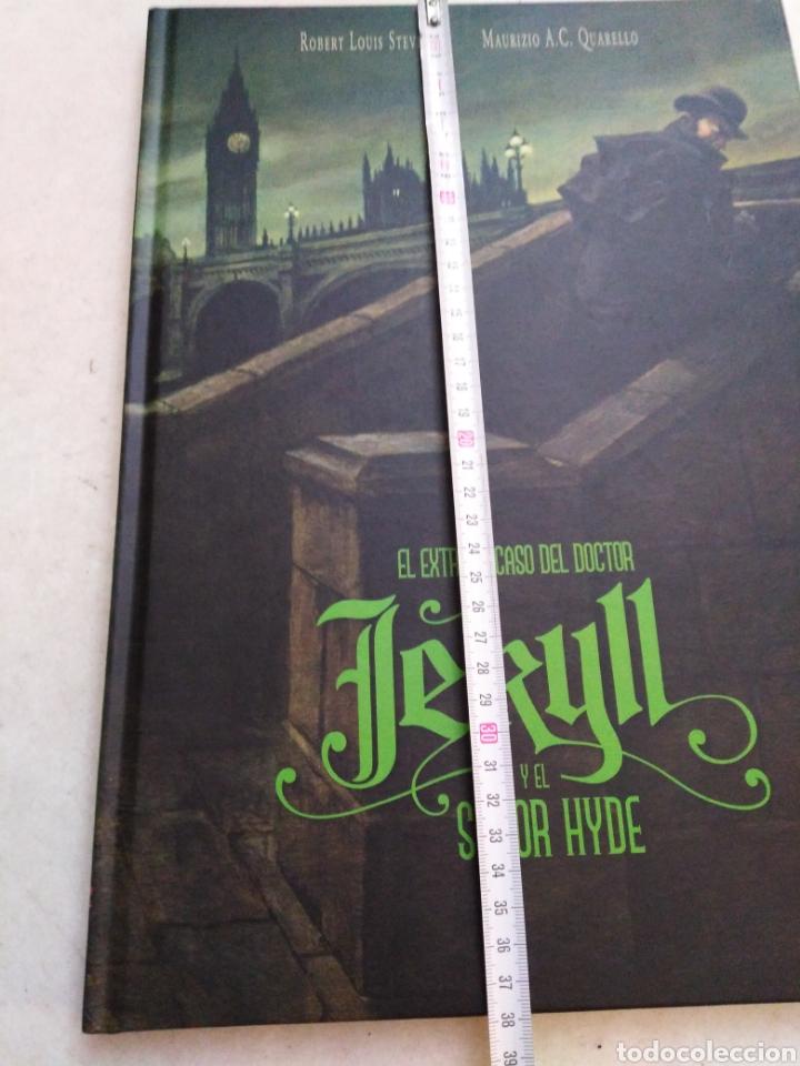 Libros: El extraño caso del doctor jekill y el señor hyde, edelvives 2018 - Foto 5 - 227607525