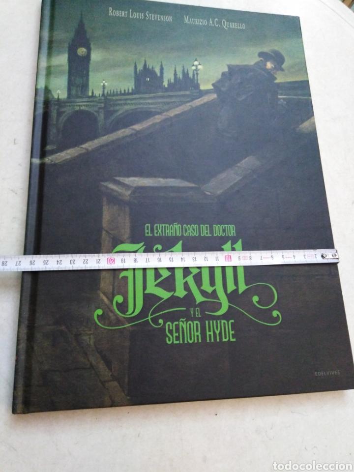 Libros: El extraño caso del doctor jekill y el señor hyde, edelvives 2018 - Foto 6 - 227607525