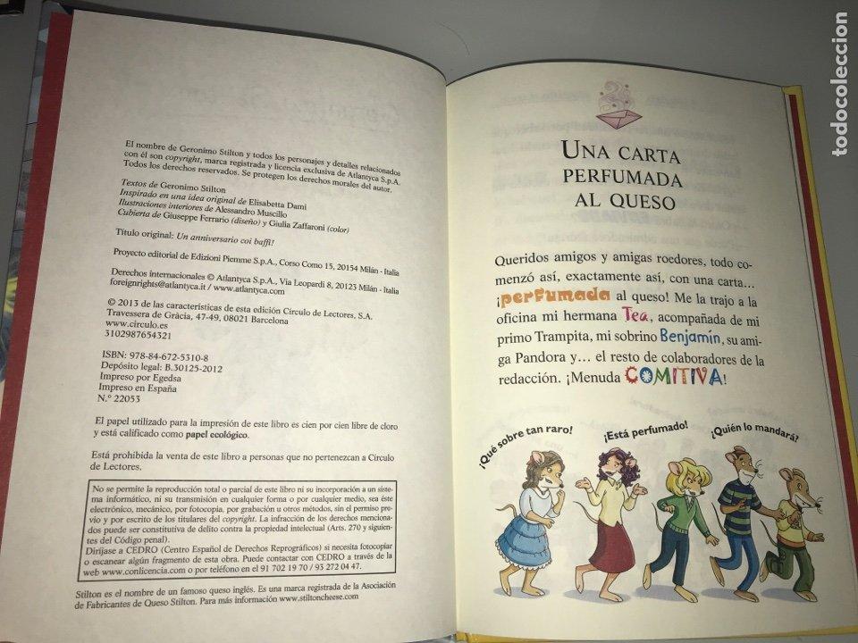 Libros: Geronimo Stilton. Un anivesario rebigotudo. Circulo de lectores - Foto 2 - 227738880