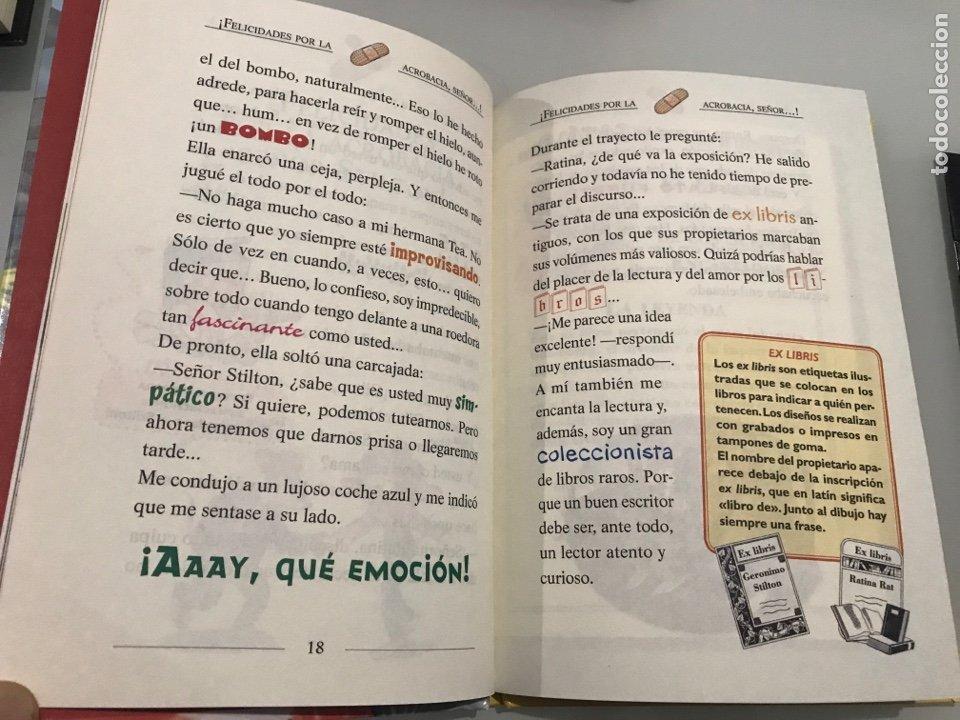 Libros: Geronimo Stilton. Un anivesario rebigotudo. Circulo de lectores - Foto 3 - 227738880
