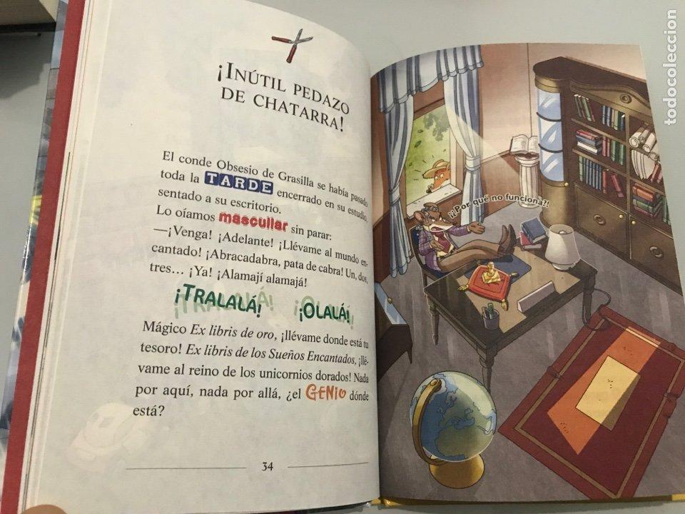 Libros: Geronimo Stilton. Un anivesario rebigotudo. Circulo de lectores - Foto 4 - 227738880