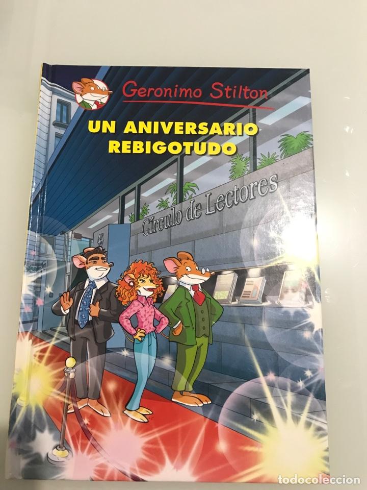 GERONIMO STILTON. UN ANIVESARIO REBIGOTUDO. CIRCULO DE LECTORES (Libros Nuevos - Literatura Infantil y Juvenil - Literatura Juvenil)
