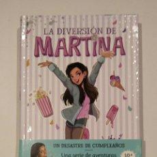 "Livres: LIBRO ""LA DIVERSIÓN DE MARTINA, UN DESASTRE DE CUMPLEAÑOS"", NÚM.1, ED. MONTENA. MARTINA D'ANTIOCHIA.. Lote 227757040"